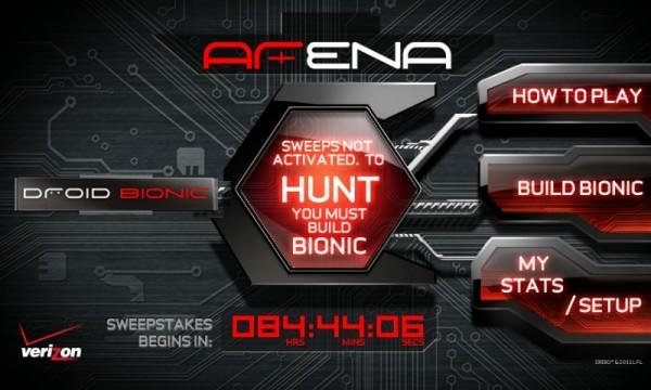 Droid Bionic Scavenger Hunt