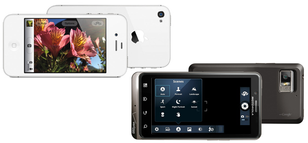 iPhone 4S and Droid Bionic Cameras