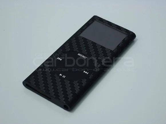 Carbon fiber iPod