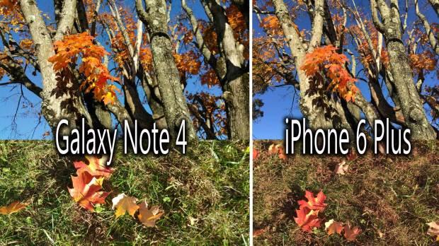 camera comparison collage