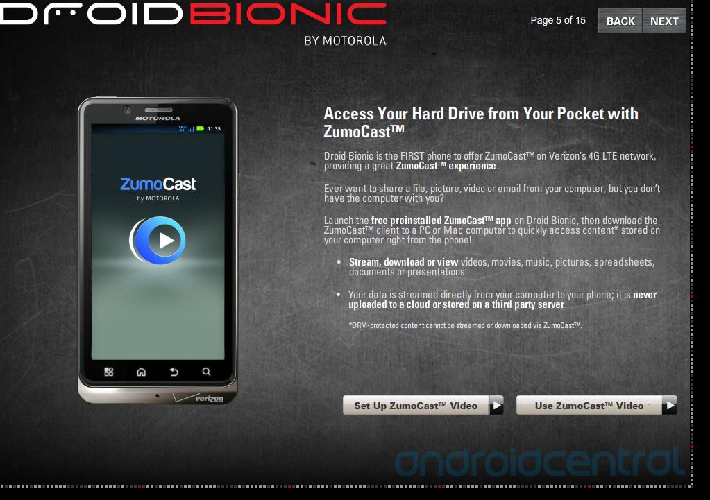 leaked training manual reveals tons of droid bionic features rh gottabemobile com Motorola Bionic Specs Motorola Droid X