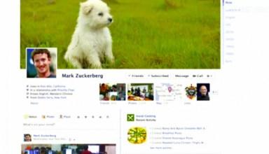 Facebook Timeline profile