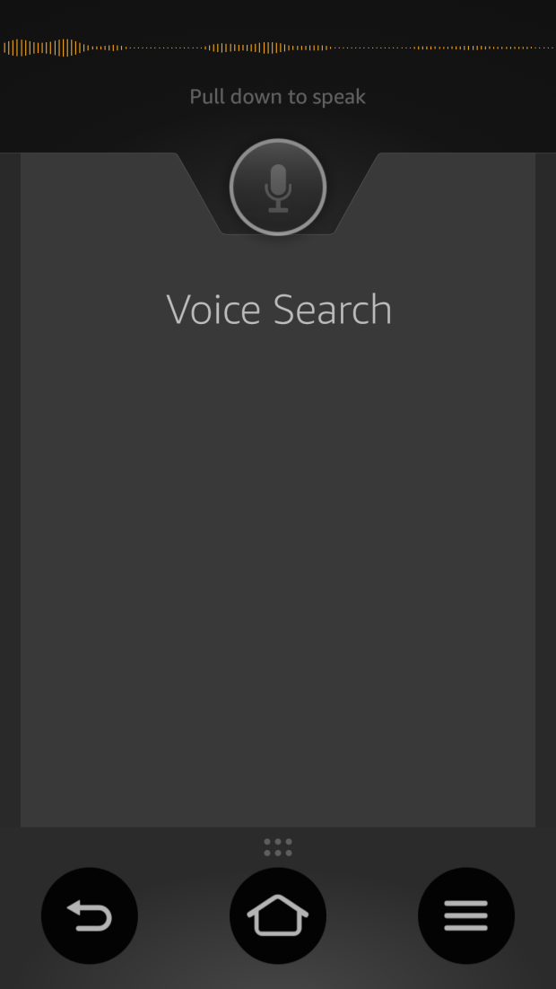 fire tv app voice search