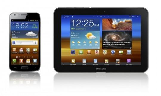 Galaxy S II, Galaxy Tab 8.9