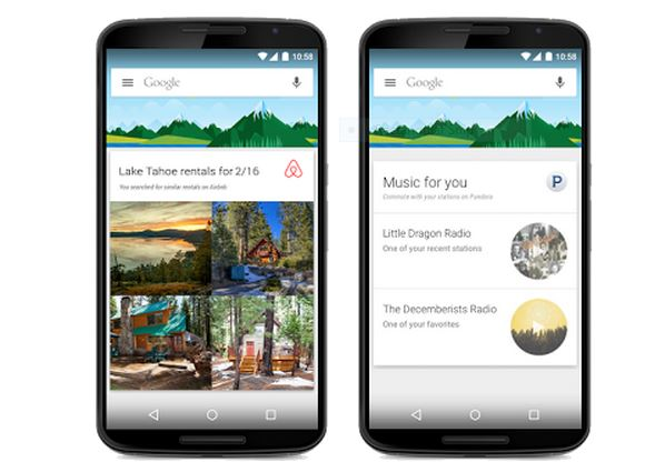 google now cards for apps