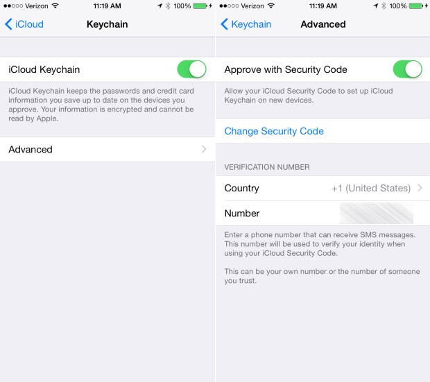 This is how to set up iCloud Keychain.