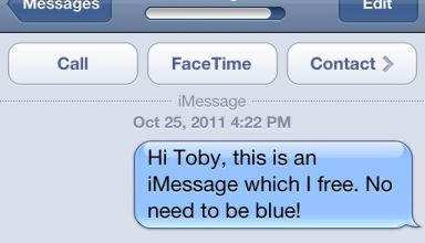iMessage iOS 5 iPhone 4S