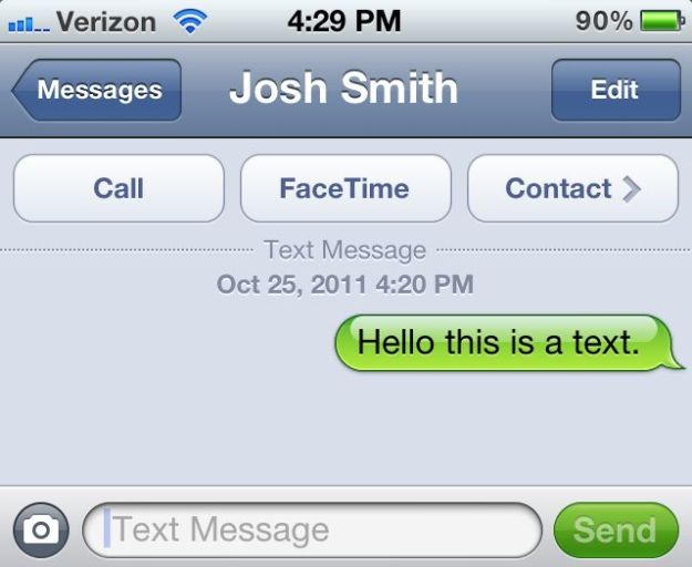 how to change text message to imessage on iphone
