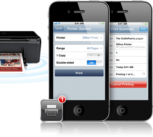iOS 4.2 Airprint