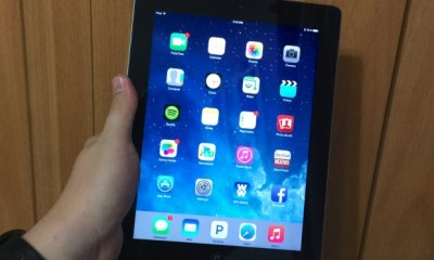 The iOS 8.1.3 update performs well on the iPad 3.