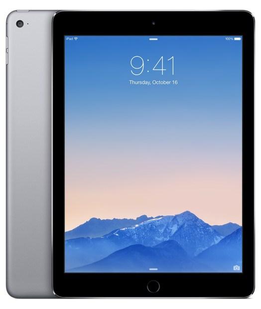 iPad Air 2 colors space gray