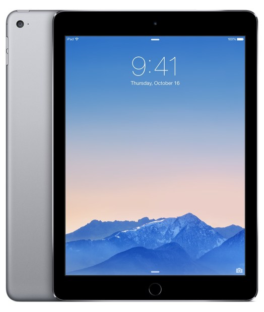 iPad Air 2 colors space gray