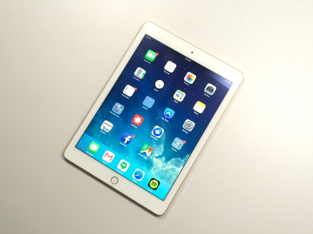 The iOS 8.1.3 update runs great on the iPad Air 2.