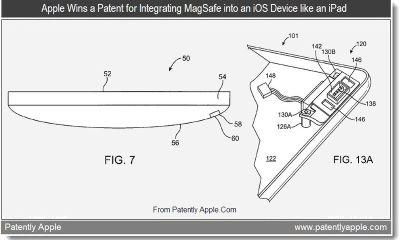 iPad Magsafe Patent