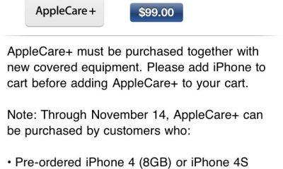 iPhone 4S AppleCare+