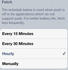iPhone 4S Better Battery Life - Fetch