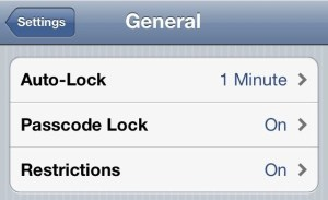 iPhone 4S Better Battery Life - AutoLock