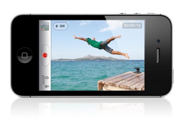 iPhone 4S camera