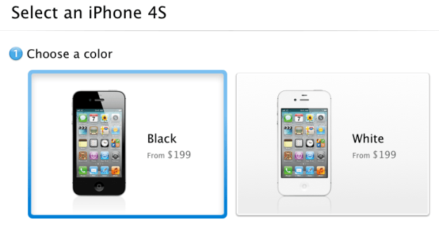 iPhone 4S sales