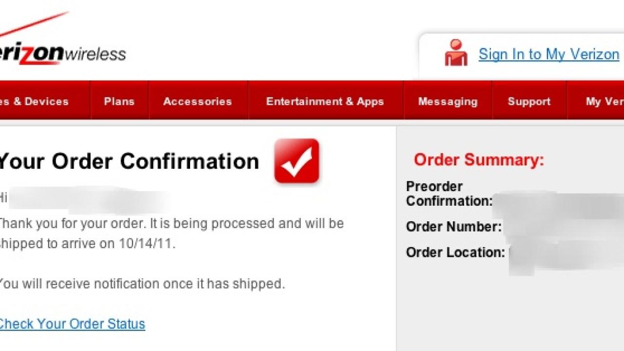 Verizon Bumbles iPhone 4S Preorders, Customer Service Clueless