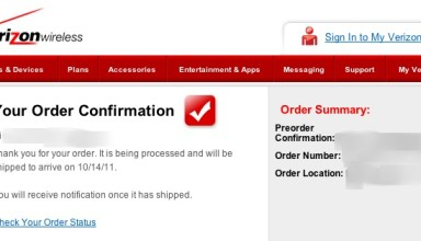 iPhone 4s preorder screw up Verizon