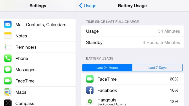 Check your use to find the reason for bad iPhone 6 Plus battery life.