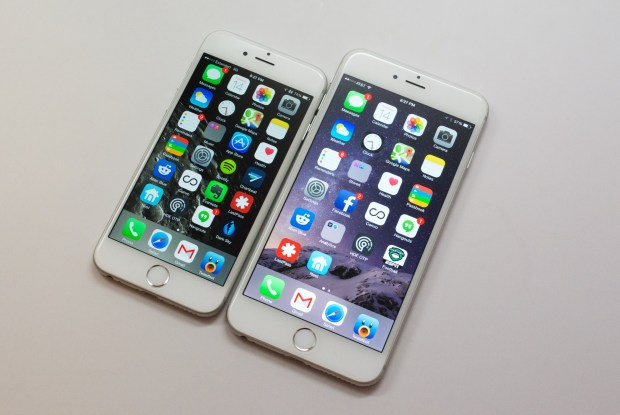 The iPhone 6 Plus offers a larger, higher resolution display.
