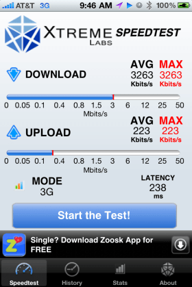 3G today in Reston, VA