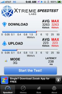3G today in Reston, VA