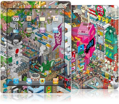 iPad 2 Gelaskins