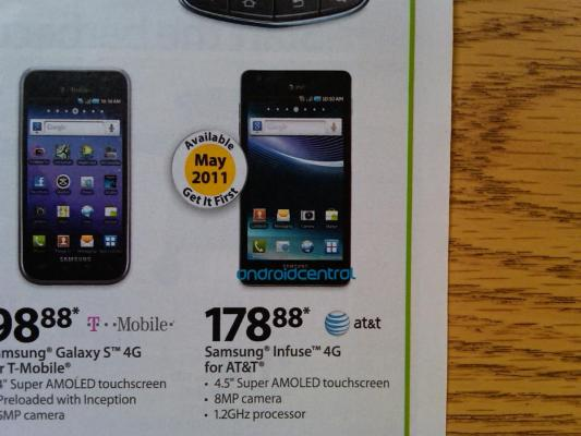 Samsung Infuse 4G Ad