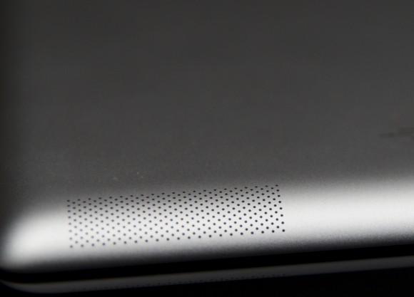 iPad 2 Review Speaker Closeup