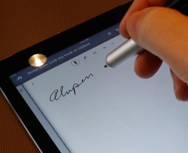 iPad stylus