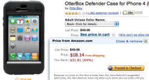 Amazon.com OtterBox Defender Case iPhone 4