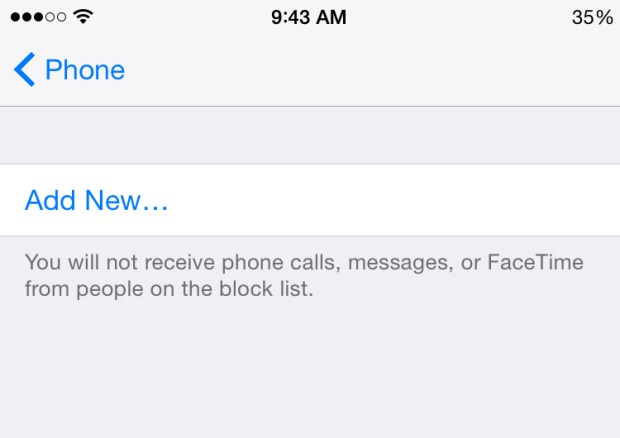 How to Block Calls on iPhone in iOS 8