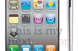 iPhone 5 mockup - what it might look like with a bigger screen