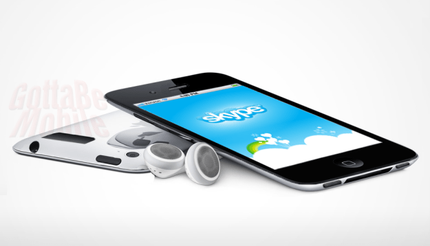 Skype is available on both iOS and Android.