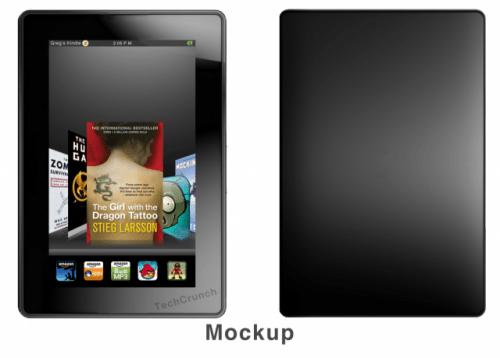 Kindle Fire Mockup