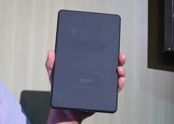 Amazon Kindle Fire back