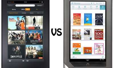 Amazon Kindle Fire vs. Barnes and Noble Nook Color