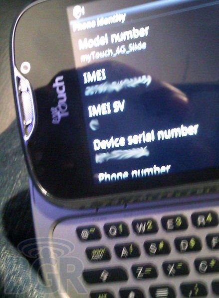 T-Mobile myTouch 4G Slide