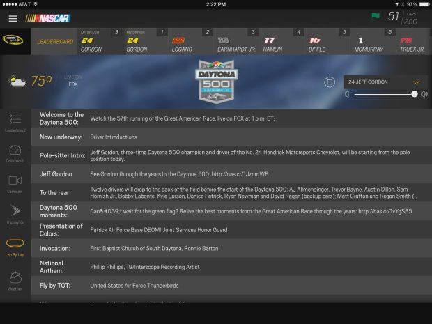 nascar mobile race highlights