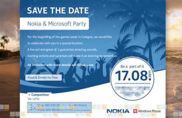 Nokia and Microsoft Event