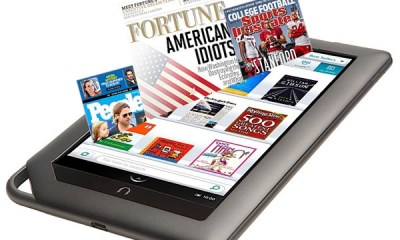 Nook Color Enhanced Magazines