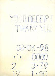 paper receipt