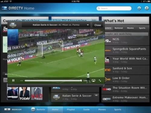 DirecTV iPad App