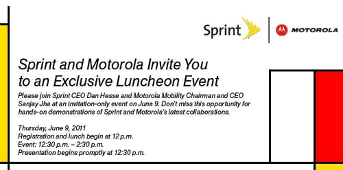 Sprint And Motorola Event