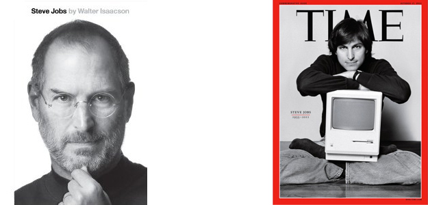 Steve Jobs Covers, biography and Time Magazine