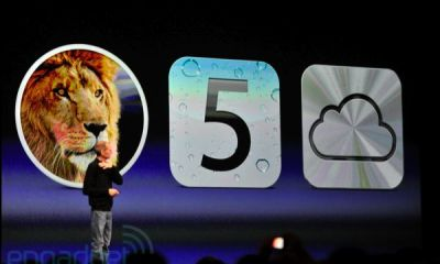 iClouds built into iOS and OS X Lion and Free