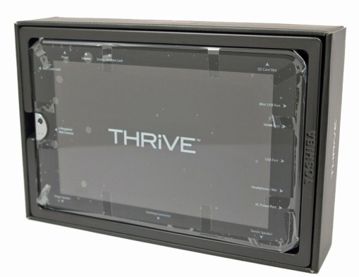 Toshiba Thrive Tablet - In The Box